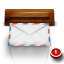64x64px size png icon of wood mail