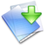 64x64px size png icon of Drop Folder