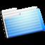 64x64px size png icon of Experimental Aqua Folder