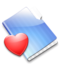 64x64px size png icon of The Favorites Folder