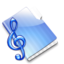 64x64px size png icon of The Music Folder