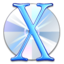 64x64px size png icon of OS X CD