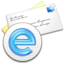 64x64px size png icon of eMail Blue