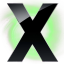 64x64px size png icon of X Circle Green