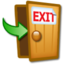 64x64px size png icon of Log Off