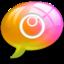 64x64px size png icon of alert10 Pink Orange