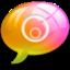 64x64px size png icon of alert3 Pink Orange