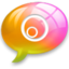 64x64px size png icon of alert5 Pink Orange
