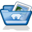 64x64px size png icon of home folder