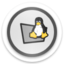 64x64px size png icon of folder tux