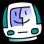 64x64px size png icon of iMac Bondi