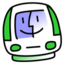 64x64px size png icon of iMac Lime