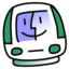 64x64px size png icon of iMac Sage