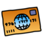 64x64px size png icon of Credit Card