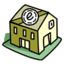 64x64px size png icon of Post Office