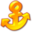 64x64px size png icon of Anchor