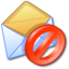 64x64px size png icon of Block Junk Mail