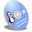 64x64px size png icon of CD Linux