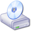 64x64px size png icon of Drive CD 1