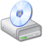 64x64px size png icon of Drive CD 2