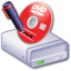 64x64px size png icon of Drive DVDR 1