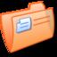 64x64px size png icon of Folder Orange