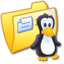 64x64px size png icon of Folder Yellow Linux