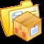64x64px size png icon of Folder Yellow Stuff