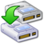 64x64px size png icon of Hard Drive Clone