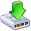 64x64px size png icon of Hard Drive Downloads 4