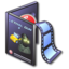 64x64px size png icon of Movies DVD