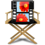 64x64px size png icon of Windows Live Movie Maker