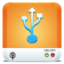 64x64px size png icon of Drives USB HD