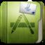 64x64px size png icon of Folder Aplication Folder