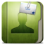 64x64px size png icon of Folder User Folder