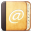 64x64px size png icon of Misc Adress book