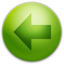 64x64px size png icon of Arrow Left