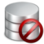 64x64px size png icon of Delete Database