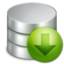 64x64px size png icon of Download Database