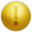 64x64px size png icon of Warning