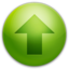 64x64px size png icon of Alarm Arrow Up