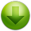 64x64px size png icon of alarm arrow down