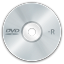 64x64px size png icon of media dvd r