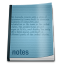 64x64px size png icon of misc notepad