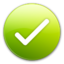 64x64px size png icon of Good or Tick