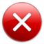 64x64px size png icon of Error