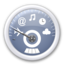 64x64px size png icon of dashboard   blue