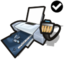 64x64px size png icon of Printer network standard