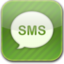 64x64px size png icon of messages glow