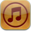 64x64px size png icon of music2 glow